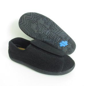New FOAMTREADS Doctor 2 Black Wool Slipper